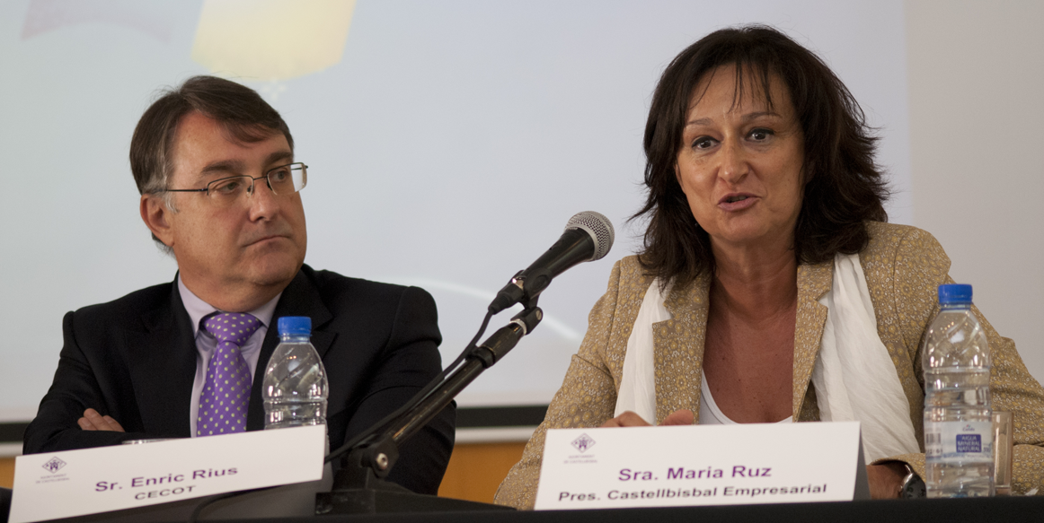 Enric Rius - CECOT / Maria Ruz - Pres. Castellbisbal Empresarial
